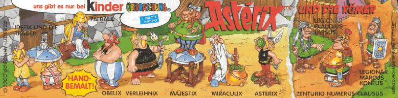 Asterix Figure Set