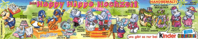 Happy Hippo Wedding